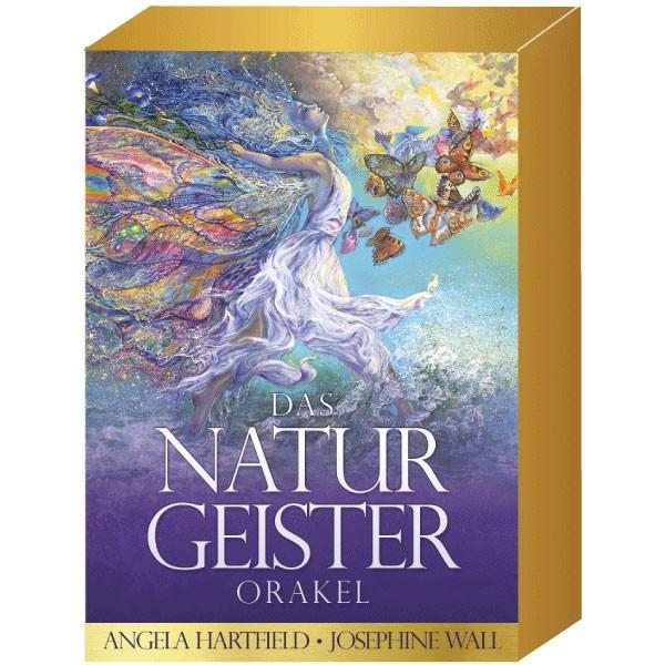Kartenset - Naturgeister-Orakel von Angela Hartfield, Josephine Wall