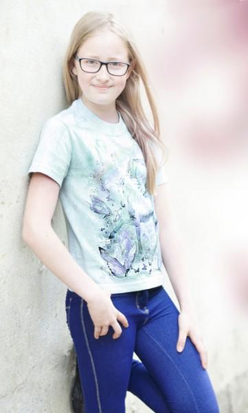 """T-Shirt """"Einhorn"""" mit Schmetterling"""