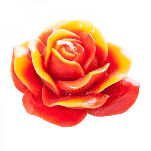 Zweifärbige Bienenwachs Rose