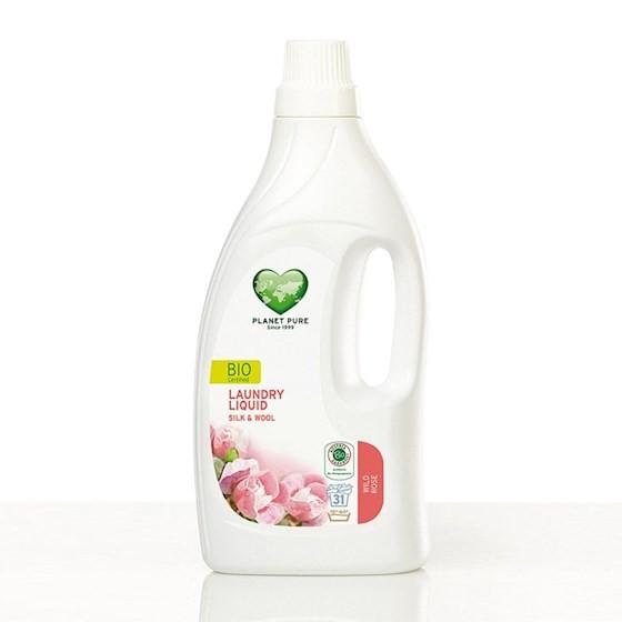 Planet Pure - Bio Waschmittel Wolle & Feines mit Wildrose