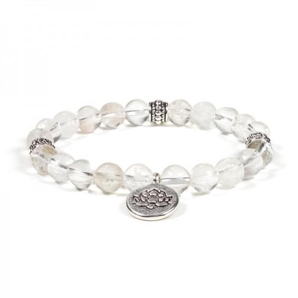 "Armband ""Lotus"" mit Bergkristall"