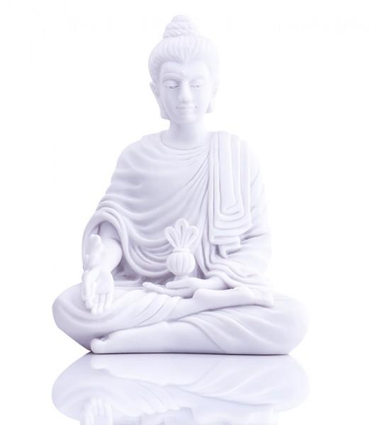 Ayurveda-Medizin Buddha aus Alabaster