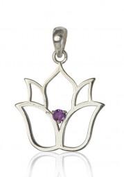 """Amulett """"Lotus"""" für Energetiker/innen"""