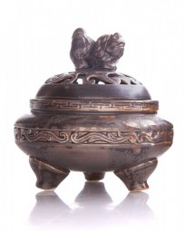 """Chinesisches Räuchergefäß """"Kraft"""" aus Keramik"""