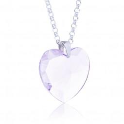 Elohim Kristall-Herz Violetter Strahl