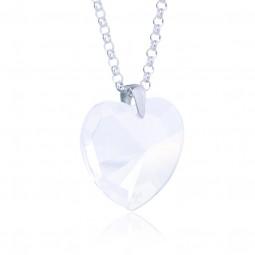 Elohim Kristall-Herz Weißer Strahl