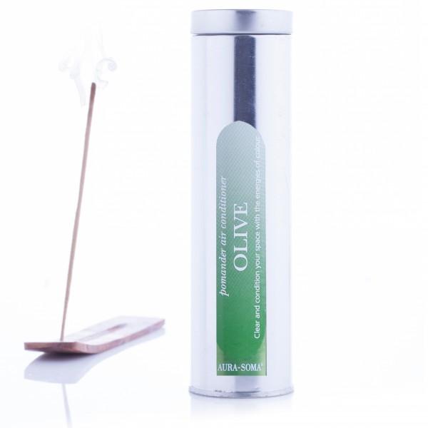 Aura-Soma® Pomander Räucherstäbchen Olivgrün