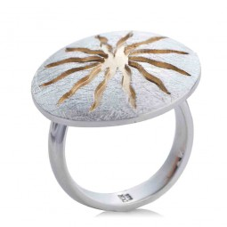"""Ring """"Sonnenrad"""""""