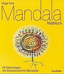 Malbuch: Mandala-Malblock
